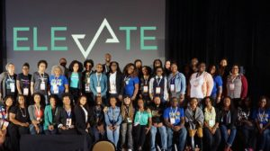 The elevate community group photo