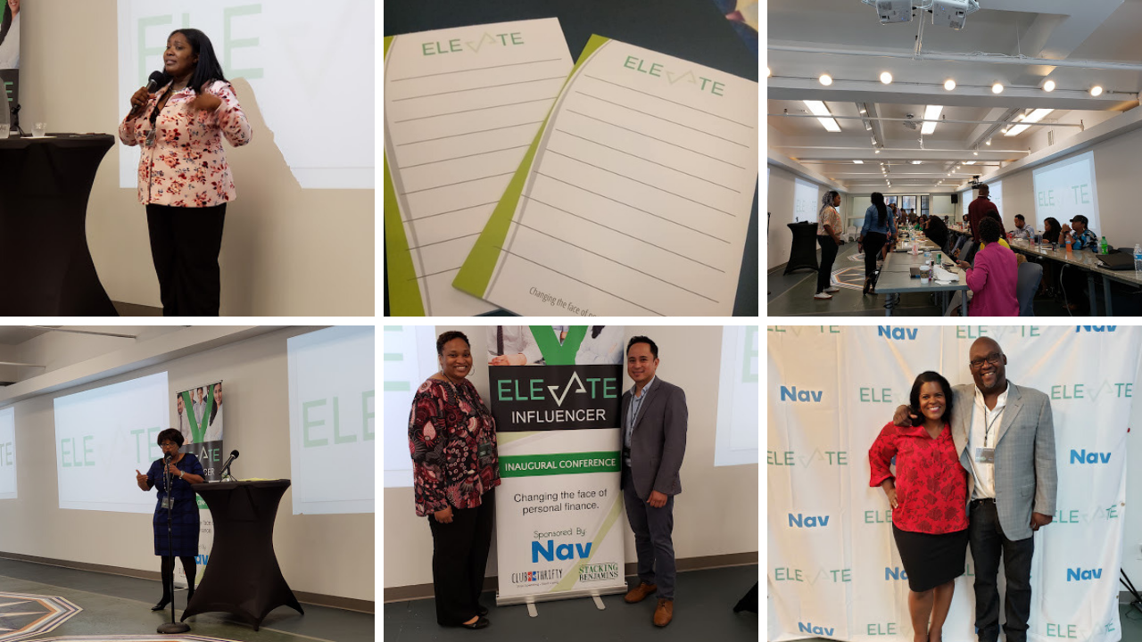 Elevate Influencer Conference Day 1 collage