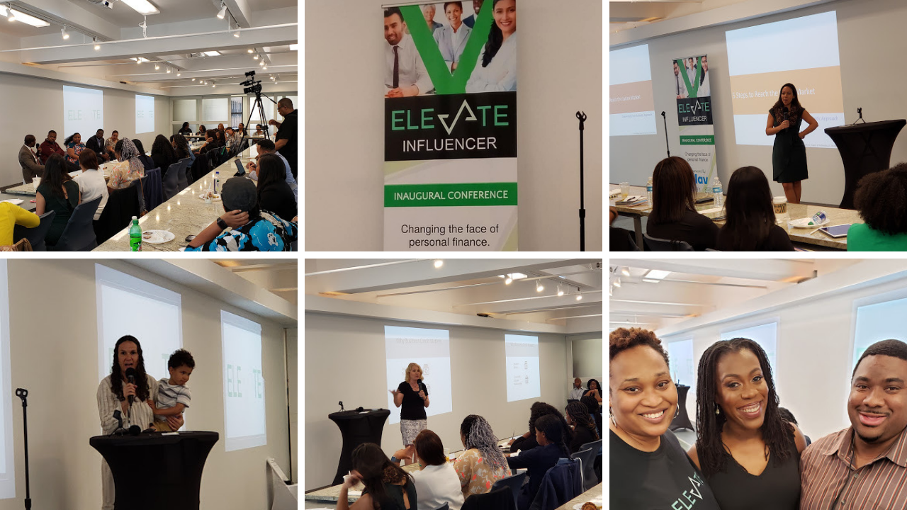 Elevate Influencer Conference Day 2 collage