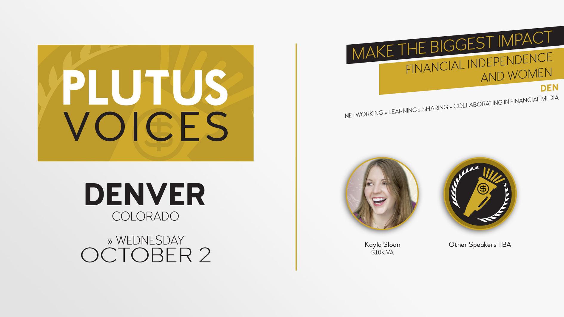 Plutus Voices Denver 2019