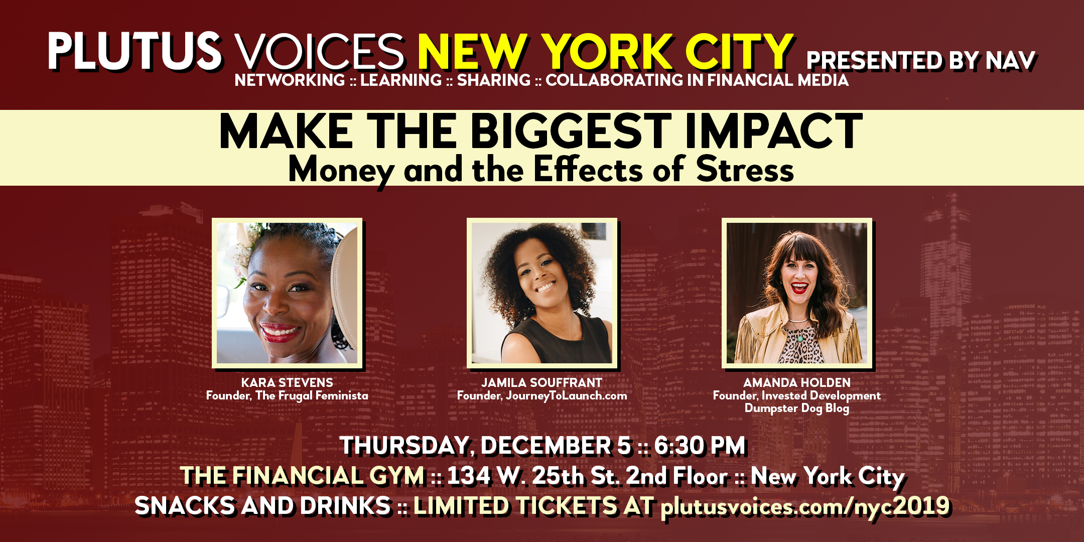 Plutus Voices Announced Speakers for NYC