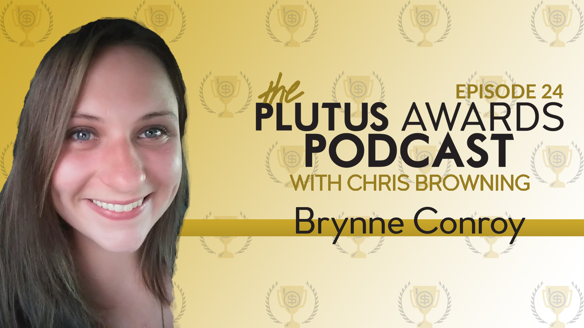 Brynne Conroy Plutus Awards Podcast Featured Image