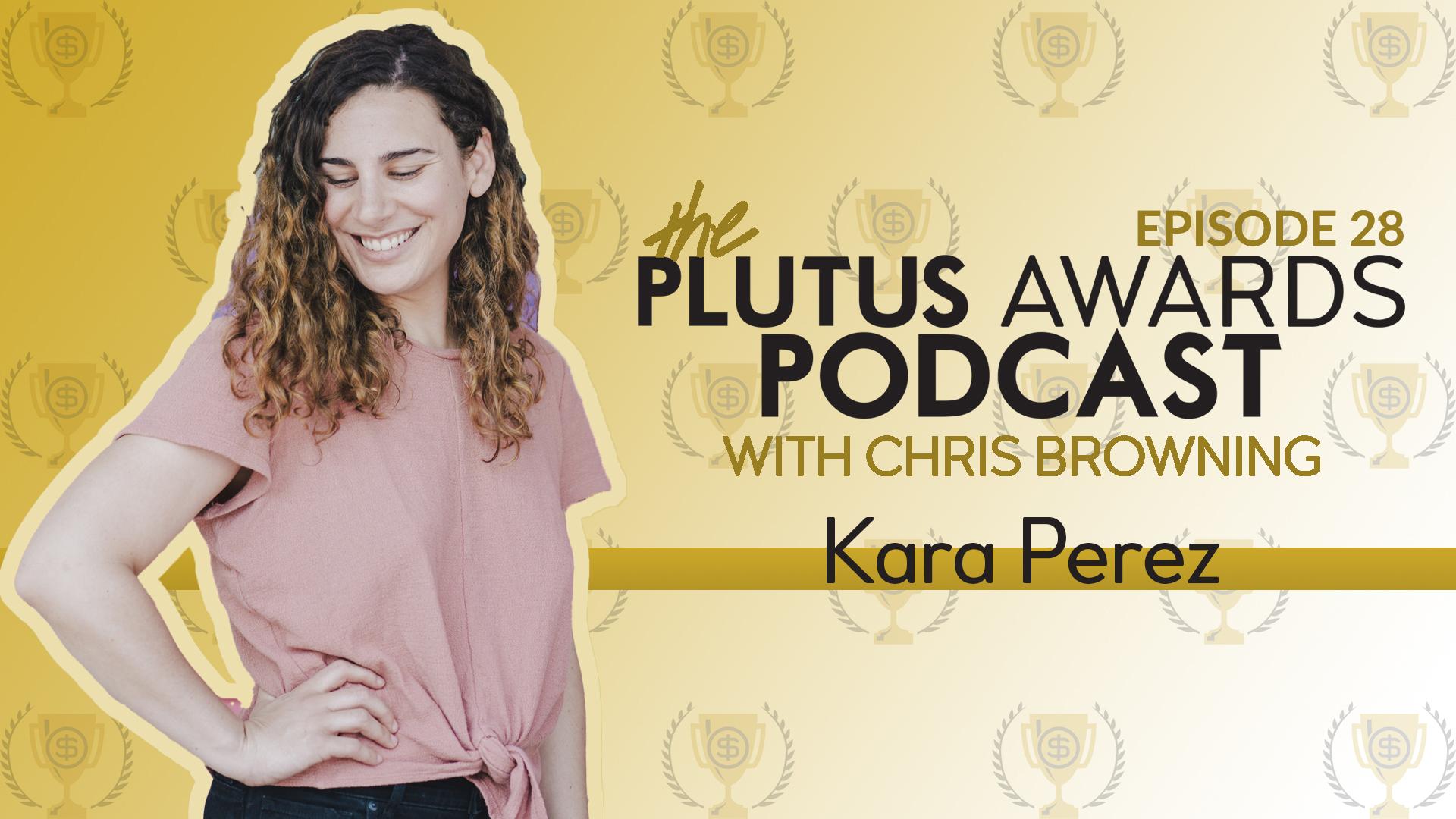 Kara Perez Plutus Awards Podcast Featured Image