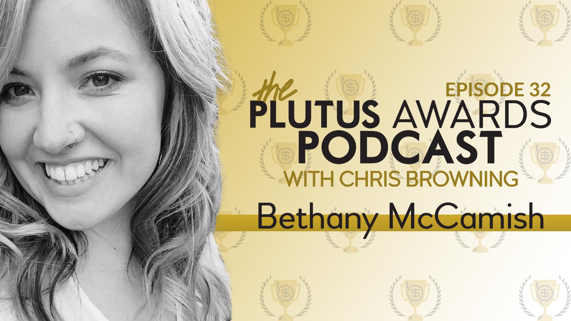 Plutus Awards Podcast Bethany McCamish Featured Image