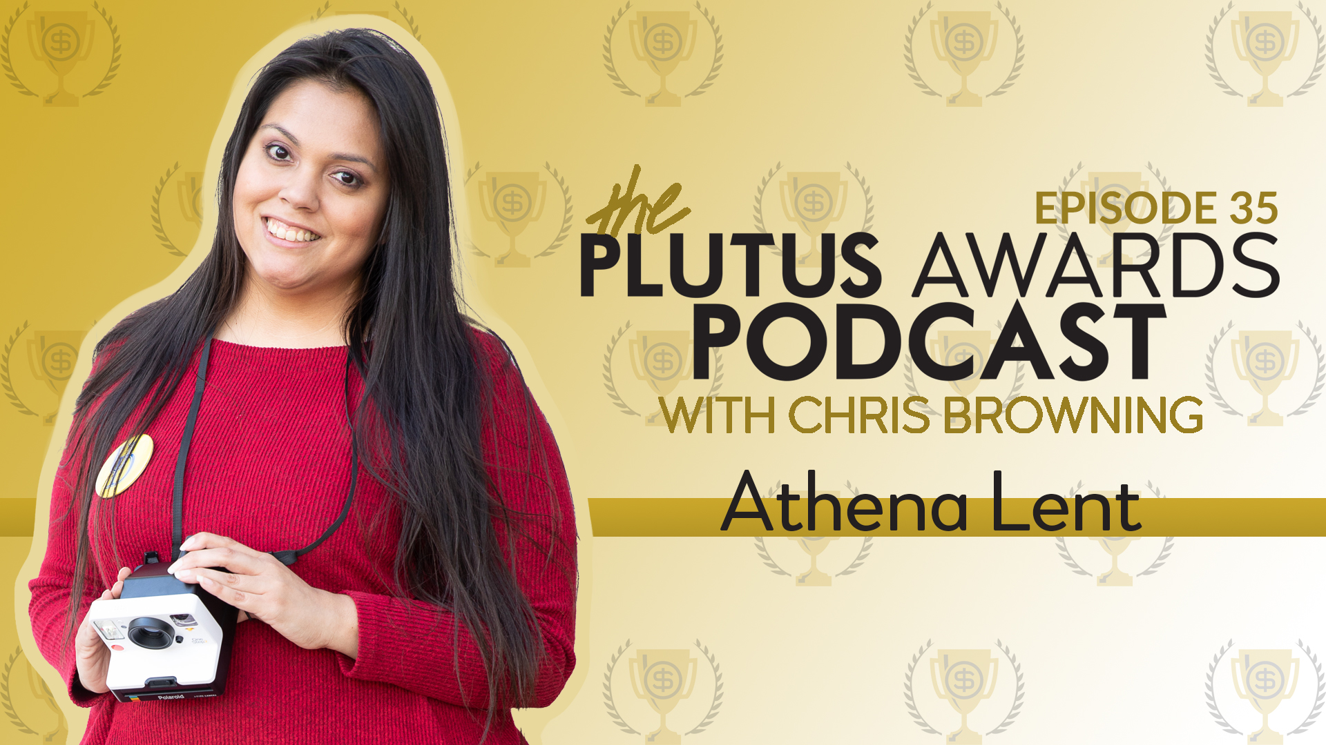 Plutus Awards Podcast - Athena Lent Featured Image