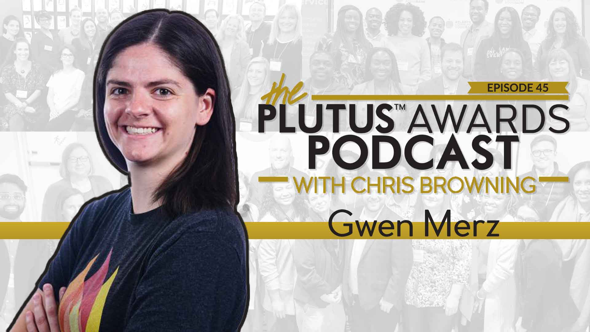 Plutus Awards Podcast Gwen Merz Featured Image