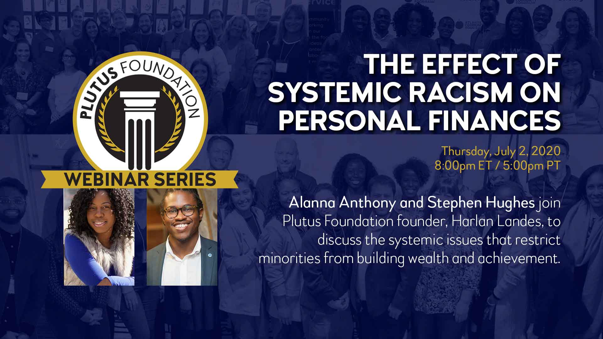 The Effect of Systemic Racism on Personal Finances - webinar cover image