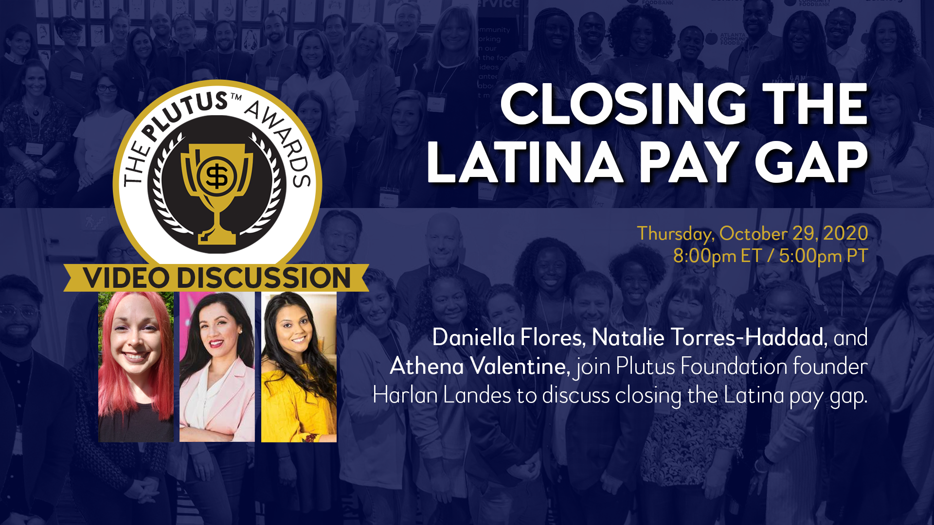 Plutus Foundation Webinar: Latina Women's Equal Pay Day Image