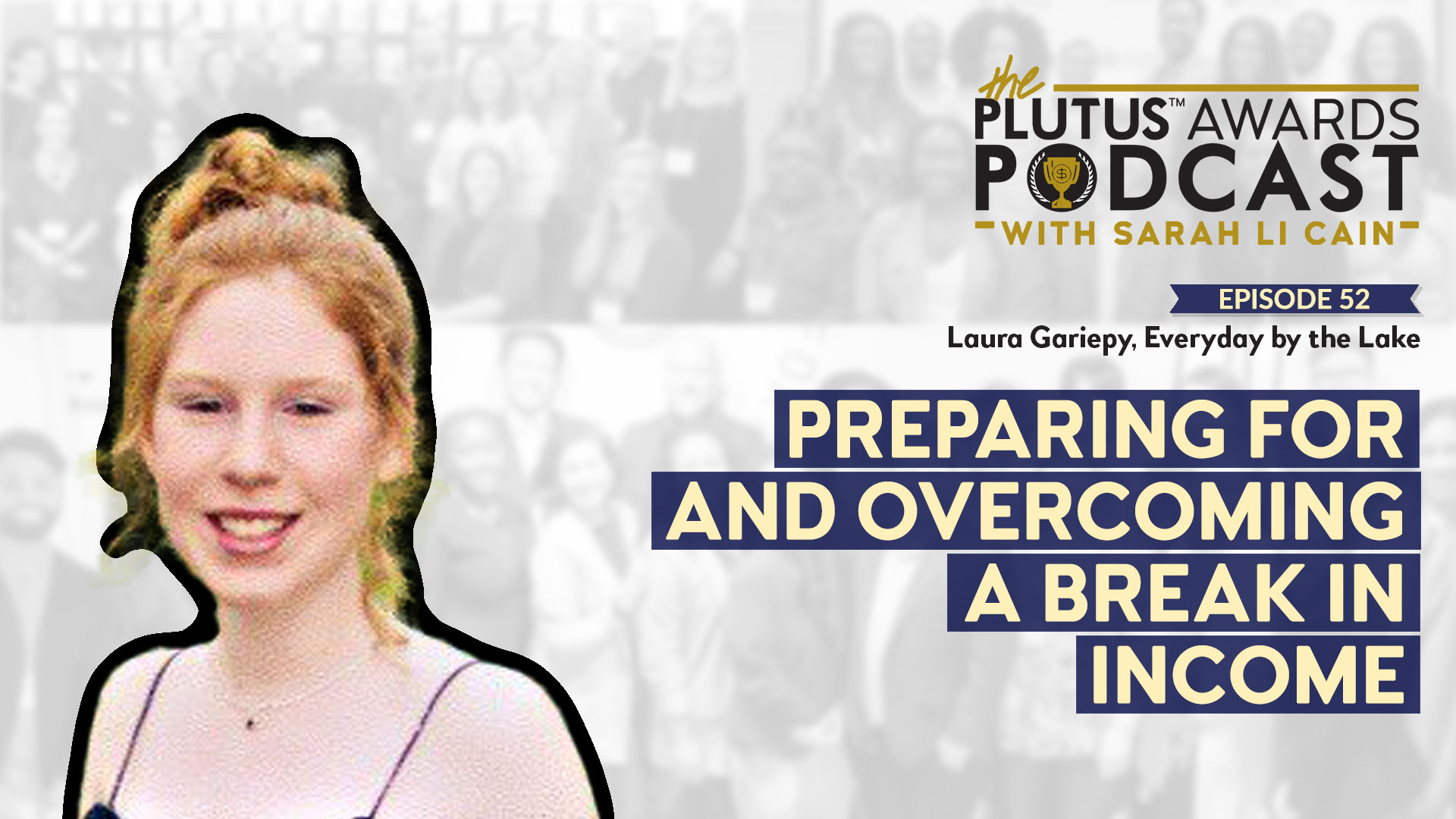 Plutus Awards Podcast Laura Gariepy Featured Image