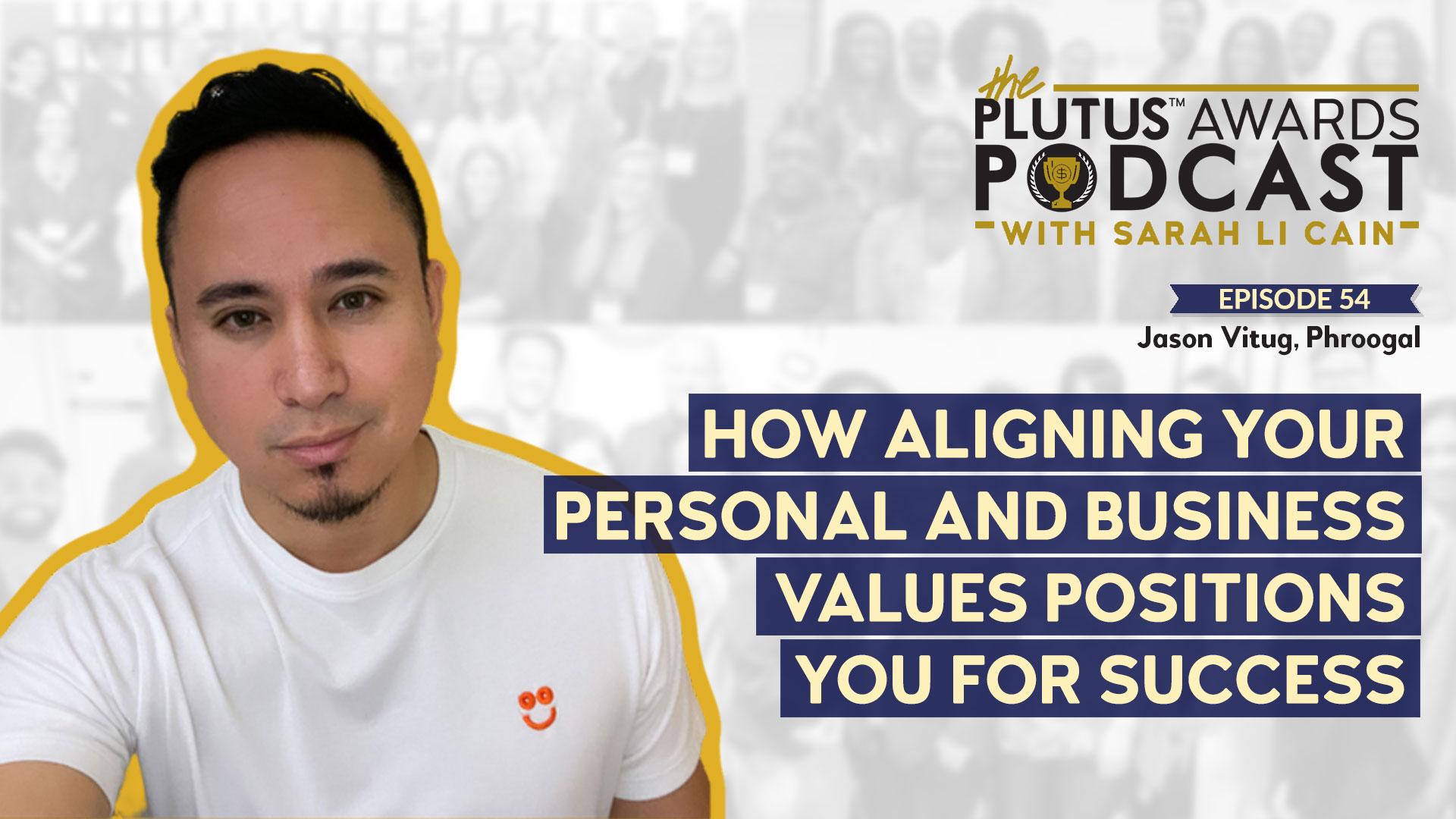 Plutus Awards Podcast - Jason Vitug Featured Image
