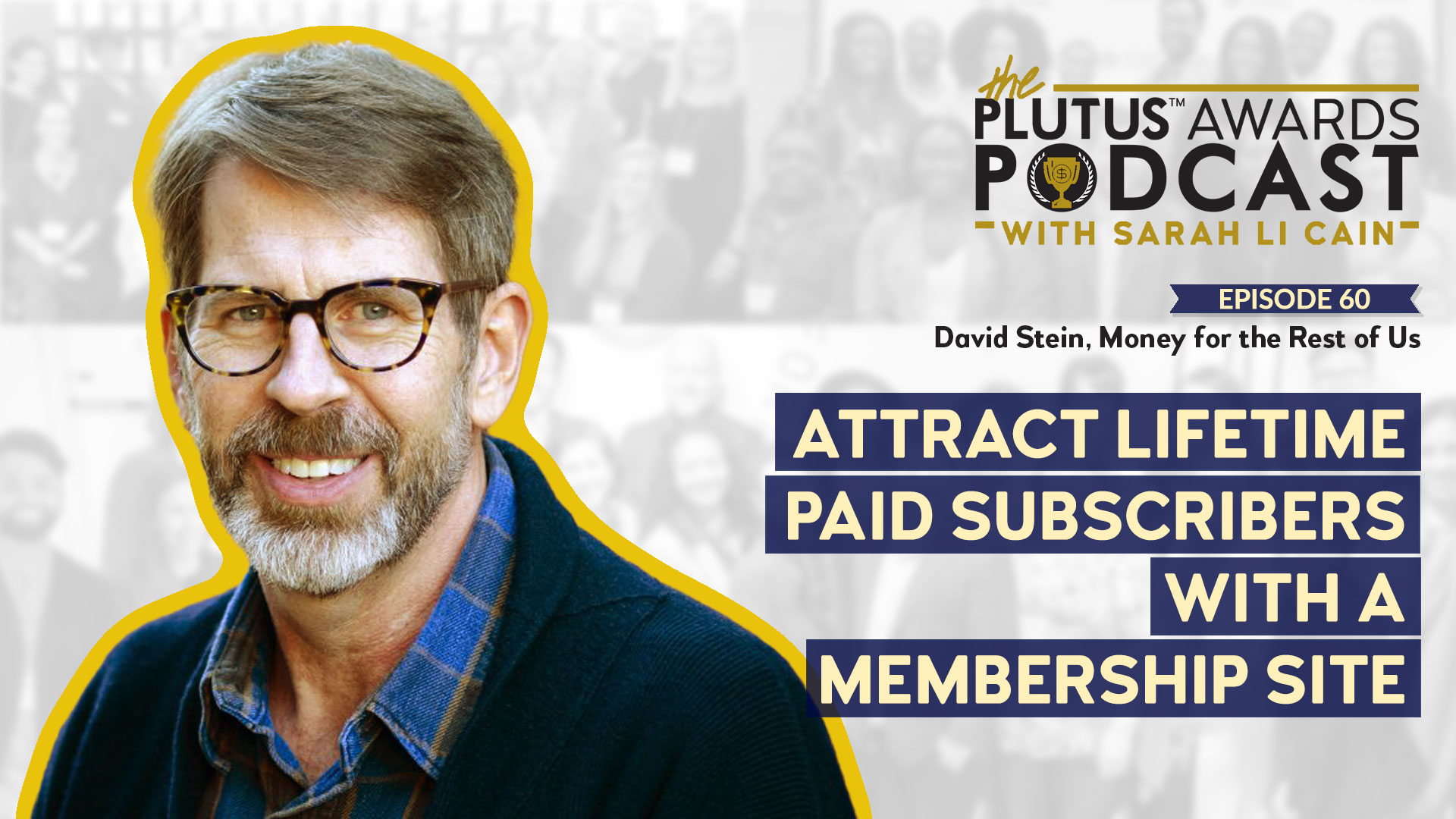 Plutus Awards Podcast - David Stein Featured Image
