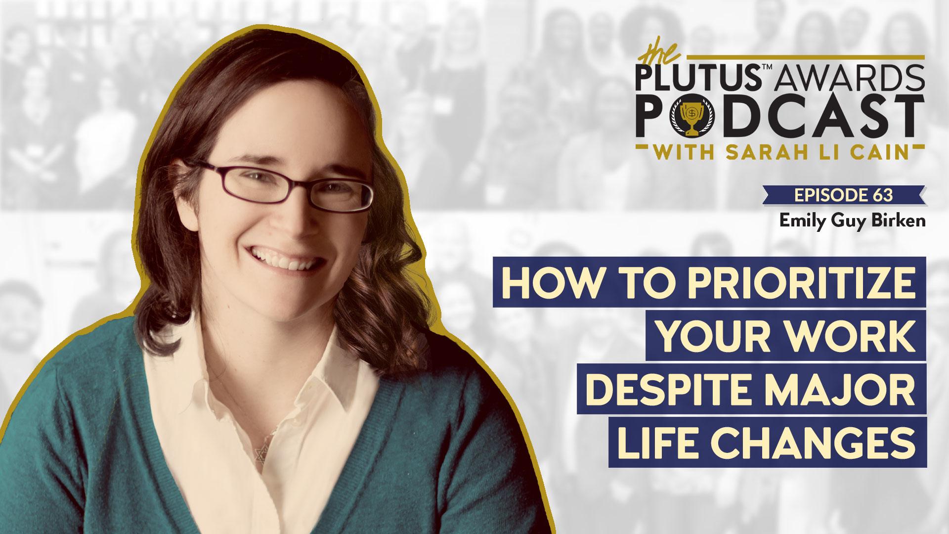 Emily Guy Birken - Plutus Awards Podcast Featured Image