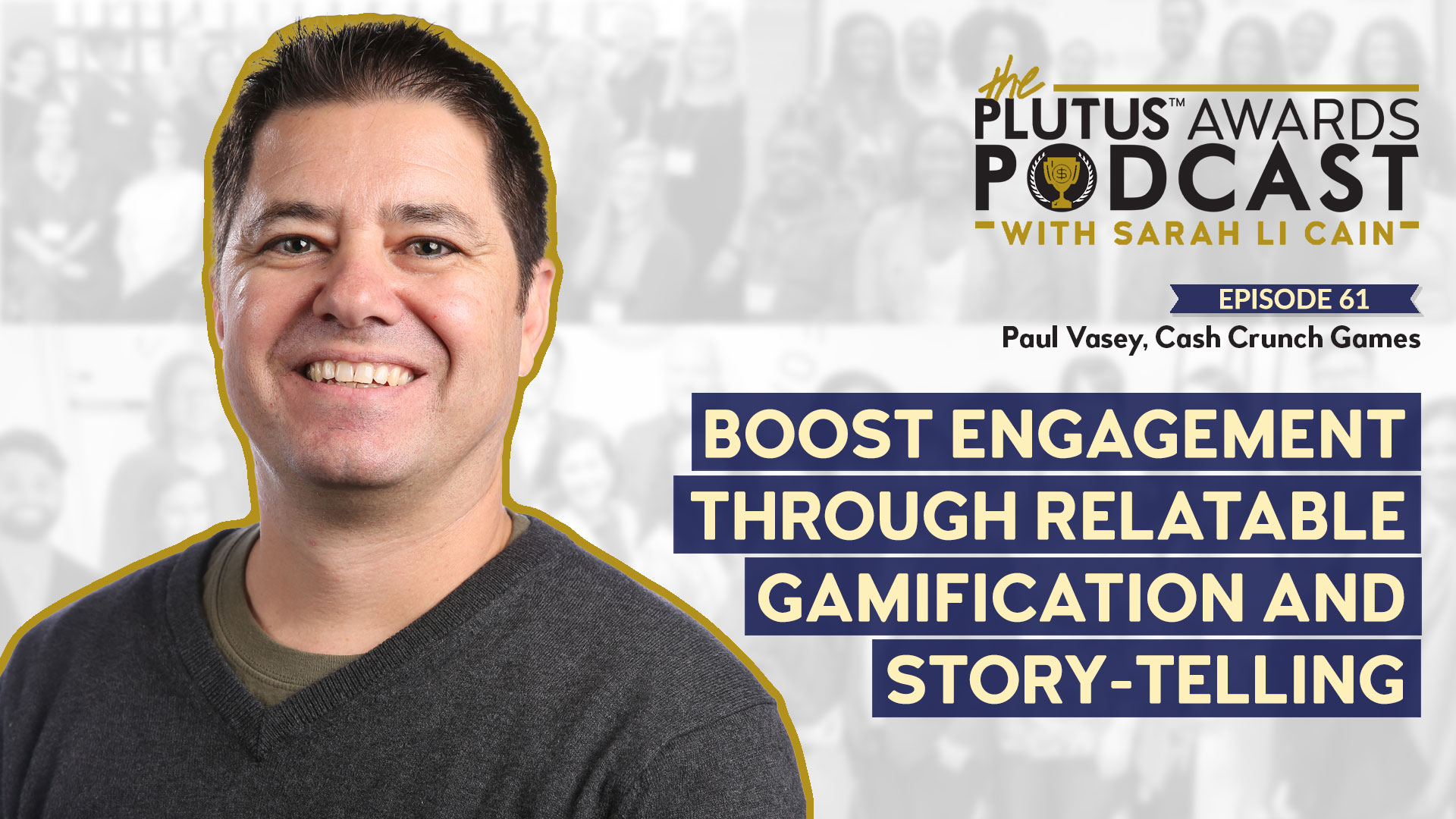 Plutus Awards Podcast - Paul Vasey Featured Image