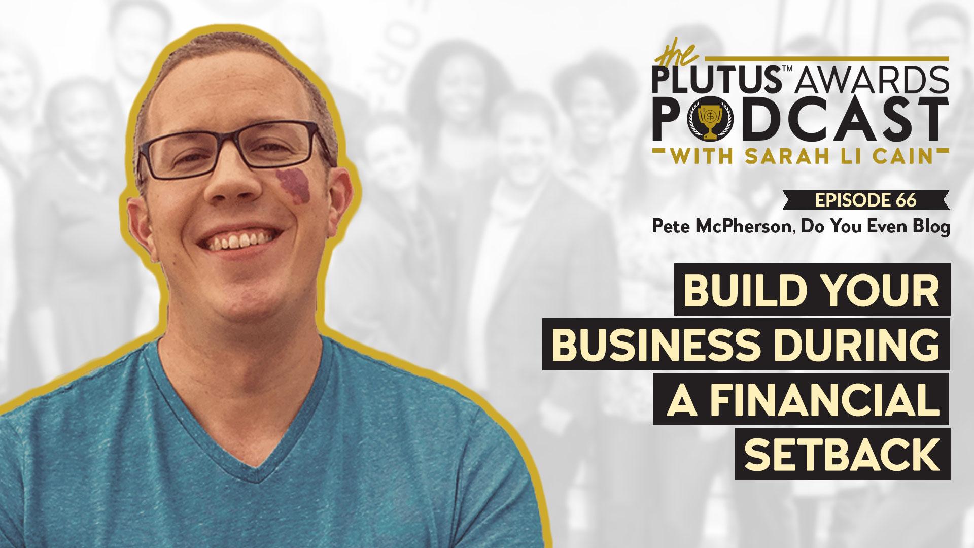 Plutus Awards Podcast - Pete McPherson Featured Image