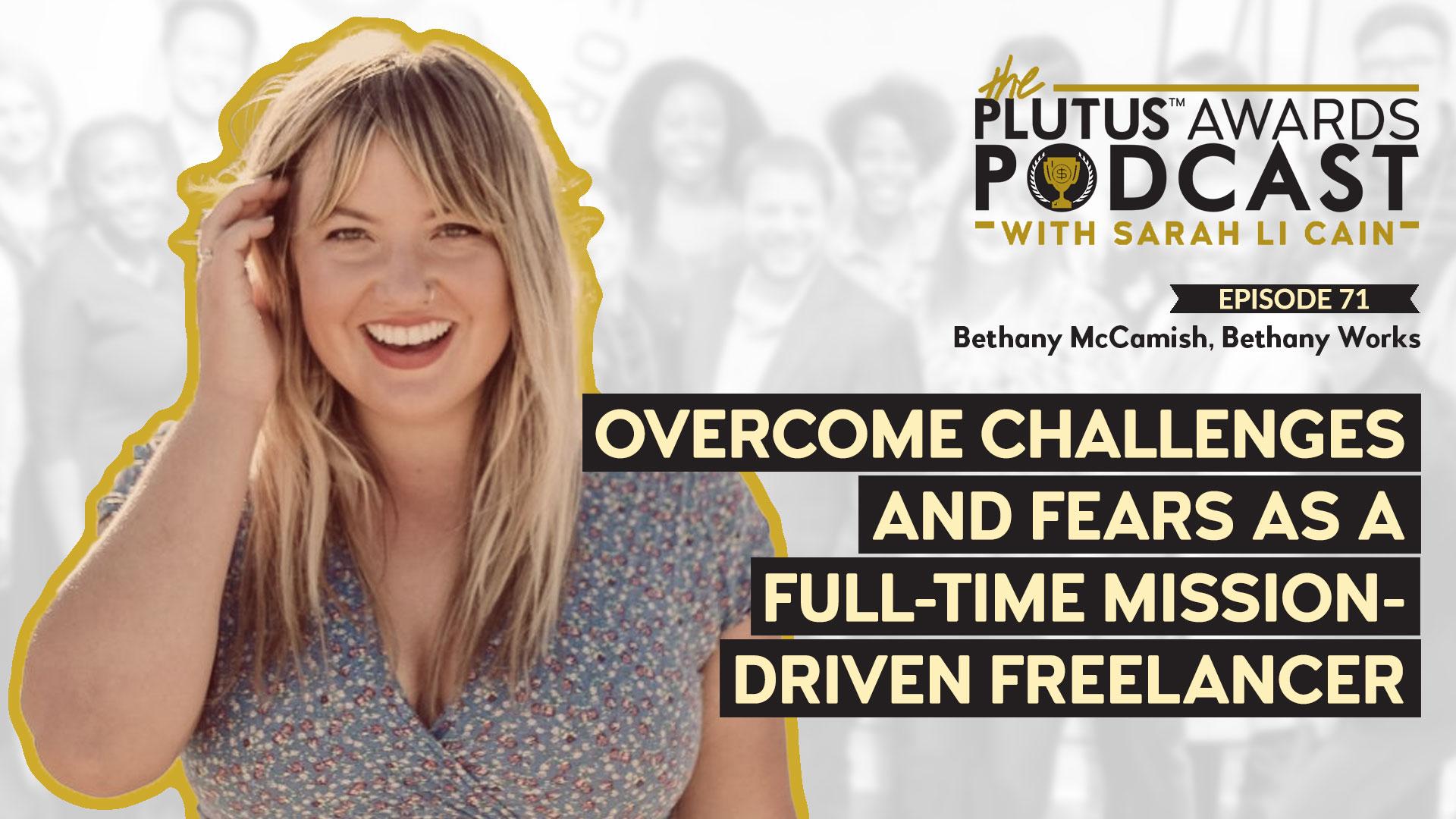 Plutus Awards Podcast - Bethany McCamish Featured Image