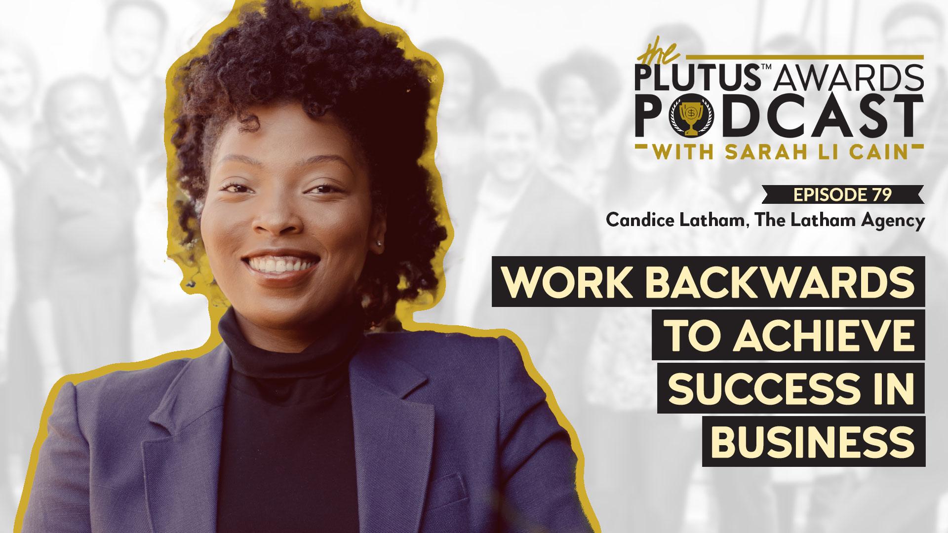 Candice Latham Plutus Awards Podcast Featured Image
