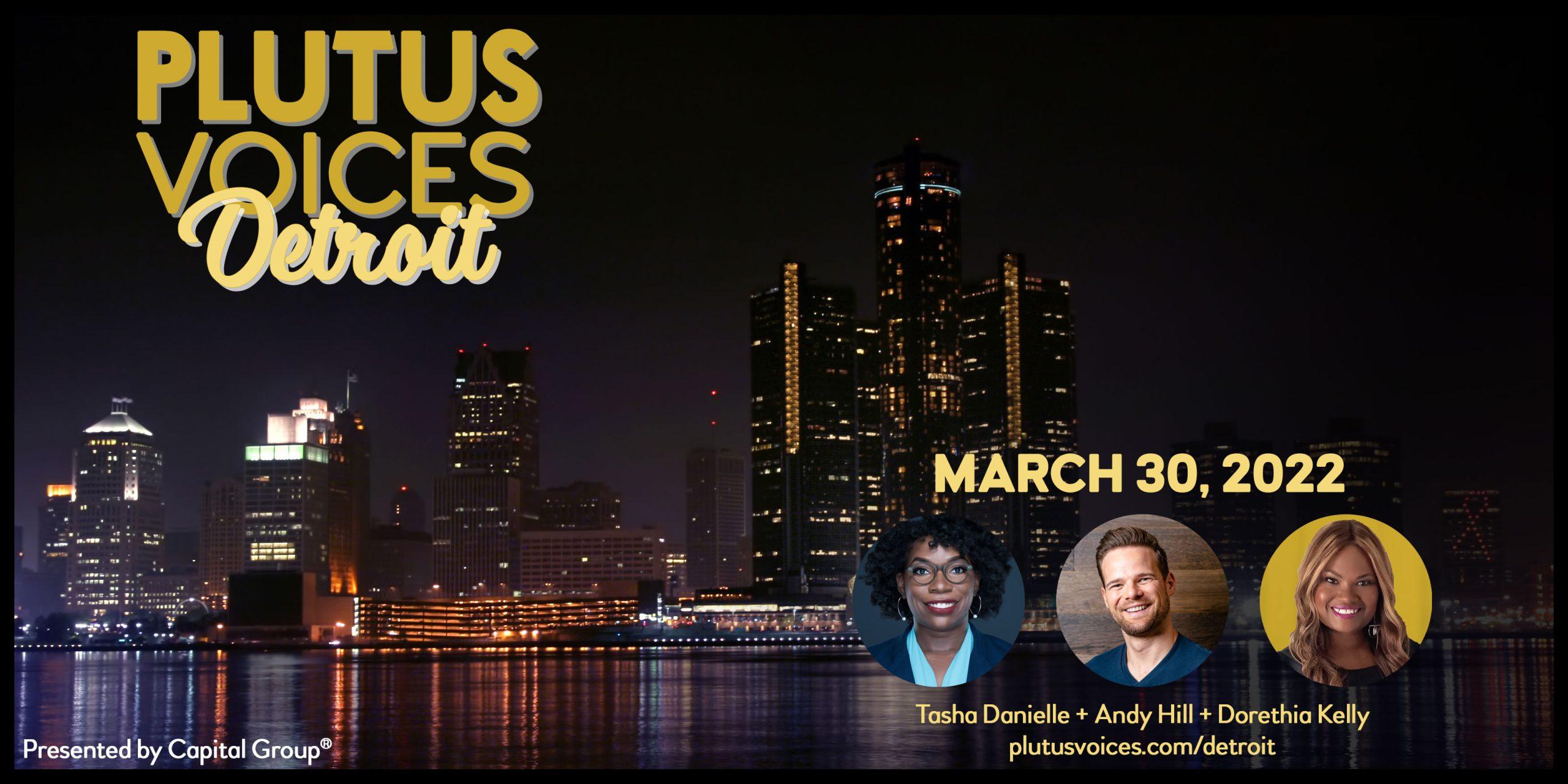Plutus Voices Detroit Cover